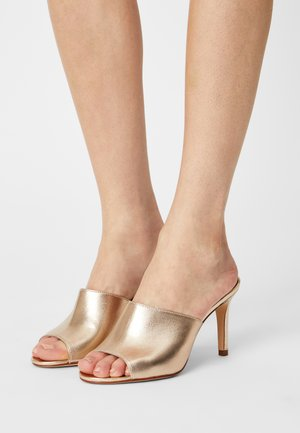 ARLIKA - Heeled mules - gold