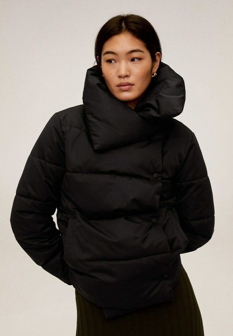 Mango - JOHN-I - Winter jacket - schwarz
