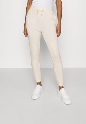 SLIM FIT SWEAT JOGGERS  - Tracksuit bottoms - off-white