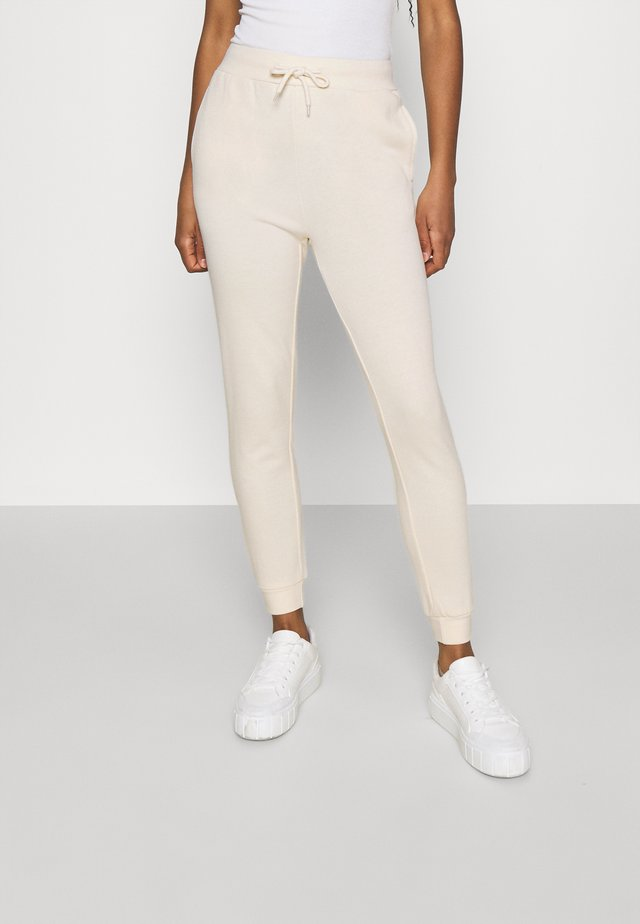 SLIM FIT SWEAT JOGGERS  - Trainingsbroek - off-white