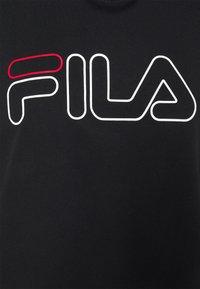 Fila - JANA CROPPED HOODY - Sweater - black - 2