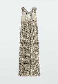 Massimo Dutti - MIT BLUMENPRINT  - Day dress - beige - 1