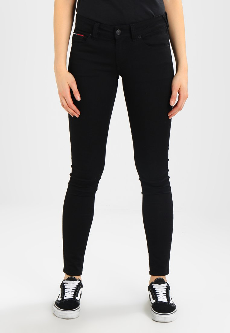 Tommy Jeans - HIGH RISE SKINNY SANTANA - Jeans Skinny - dana black stretch