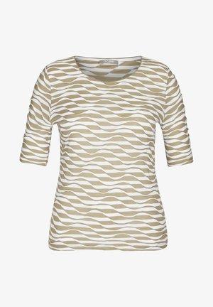 T-Shirt print - mottled light green