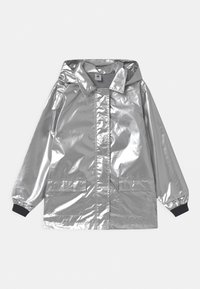 Petit Bateau - RECYCLED LAETICIA CIRE - Waterproof jacket - argent - 0