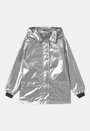 RECYCLED LAETICIA CIRE - Waterproof jacket - argent