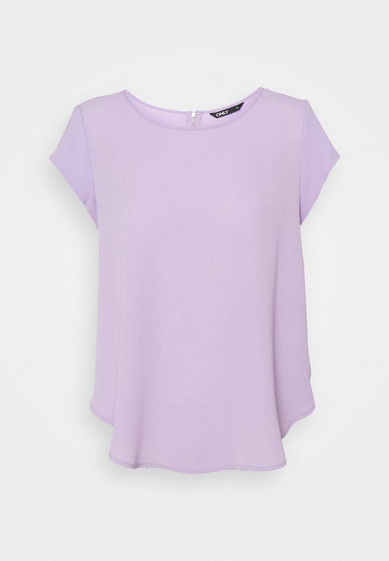 ONLY - ONLVIC SOLID  - Camiseta básica - lavender