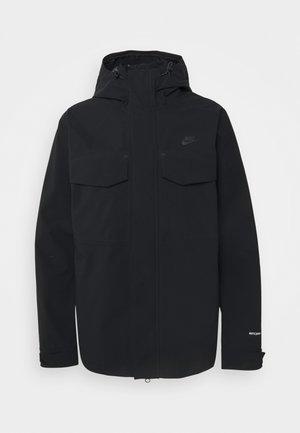 Lehká bunda - black/dark smoke grey