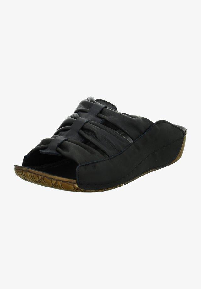 Mules - schwarz