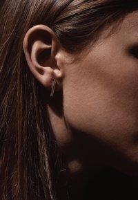 No More - SHORT PIPE EARRINGS - Earrings - silver - 1