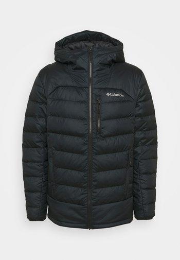 AUTUMN PARK HOODED JACKET - Down jacket - black