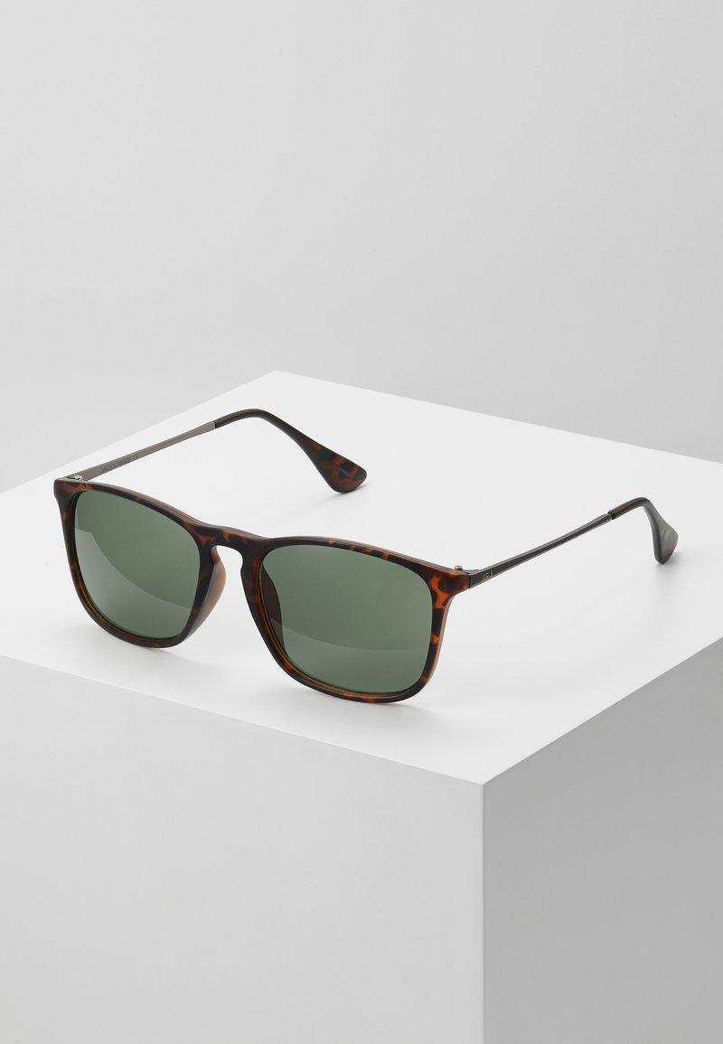 Jack & Jones - JACMAVERICK SUNGLASSES - Sunglasses - bistre