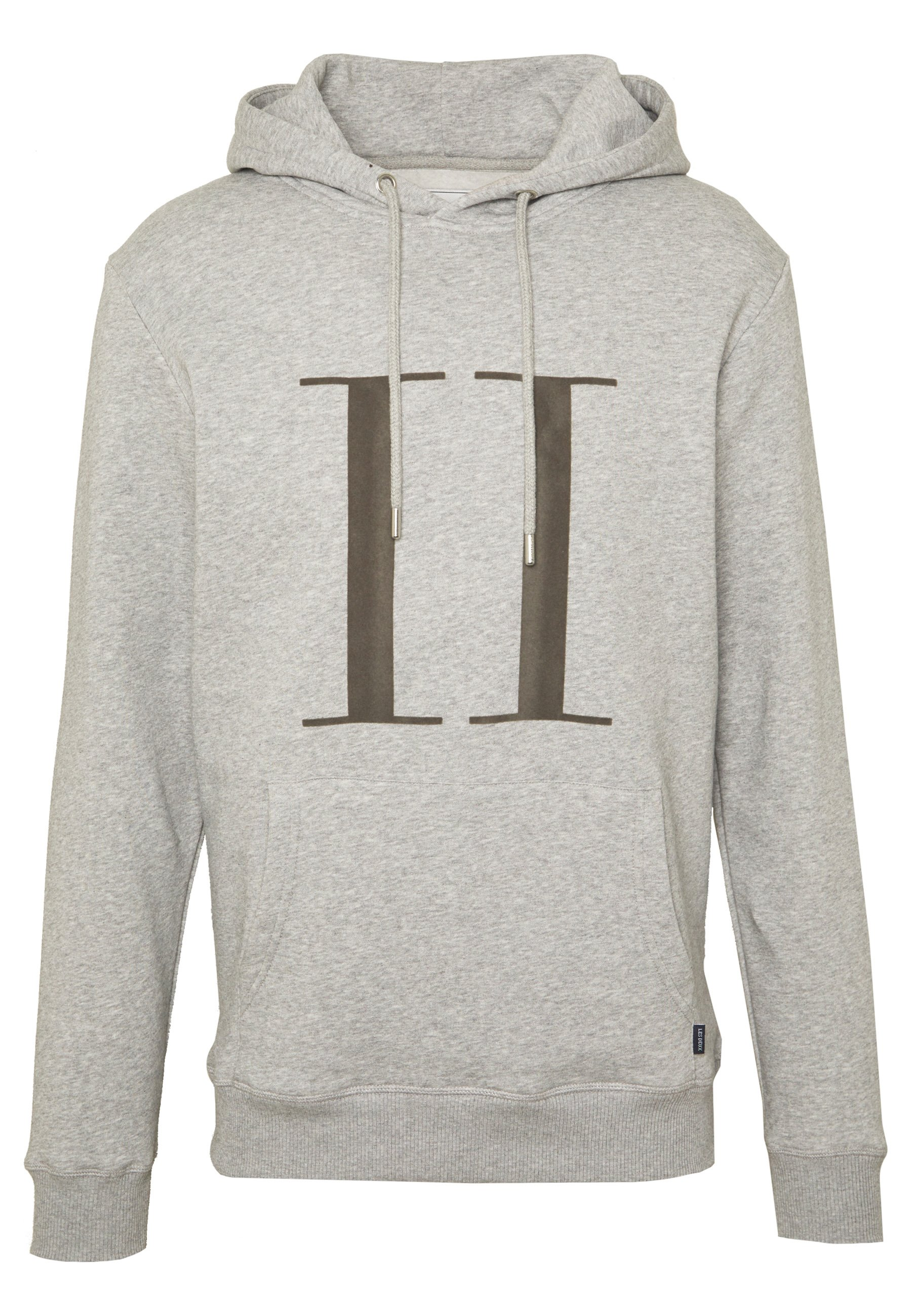 Les Deux ENCORE HOODIE - Sweat à capuche - light grey melange