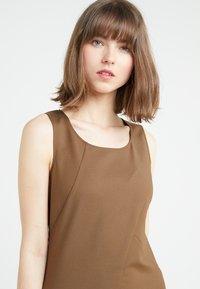 Patrizia Pepe - Shift dress - techno brown - 4