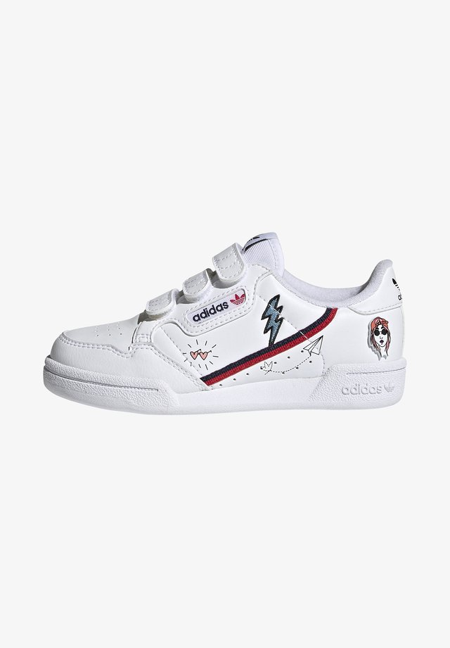 CONTINENTAL 80 SHOES - Sneakers laag - ftwr white/collegiate navy/scarlet