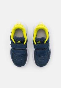 adidas Performance - TENSAUR RUN UNISEX - Neutral running shoes - crew navy/halo silver/acid yellow - 3