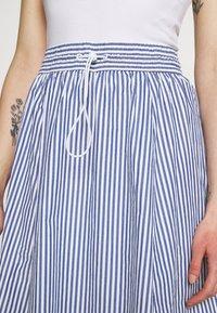 Monki - A-line skirt - blue/bright - 4