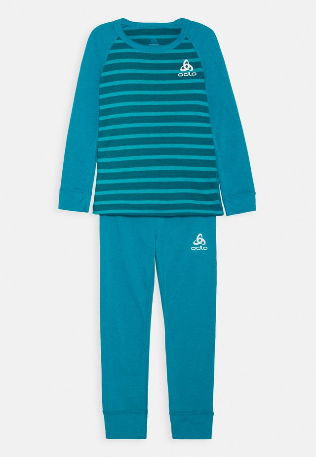 ACTIVE WARM ECO KIDS SET UNISEX - Tílko - tumultuous sea/submerged