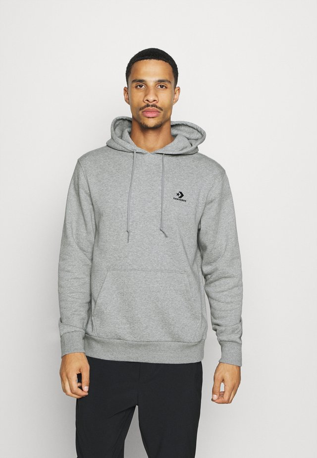 STAR CHEVRON  - Hoodie - mottled grey