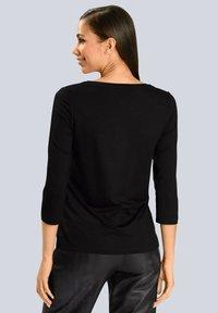 Alba Moda - Long sleeved top - schwarz beige - 2