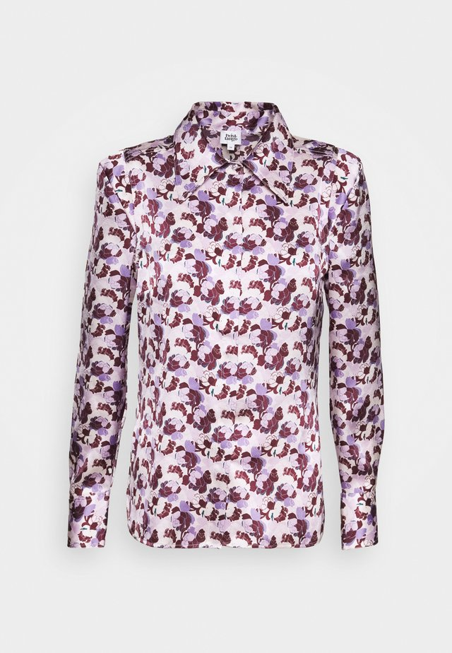 PEGGY - Button-down blouse - lilac