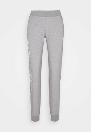 TROUSER - Tracksuit bottoms - grey med melange