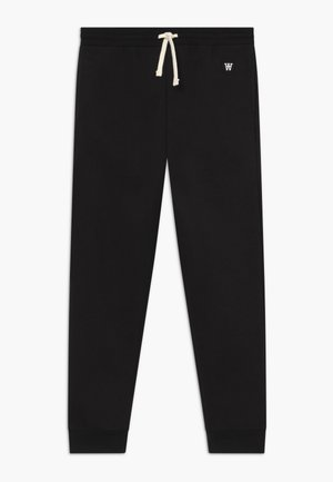 RAN KIDS TROUSERS - Tracksuit bottoms - black