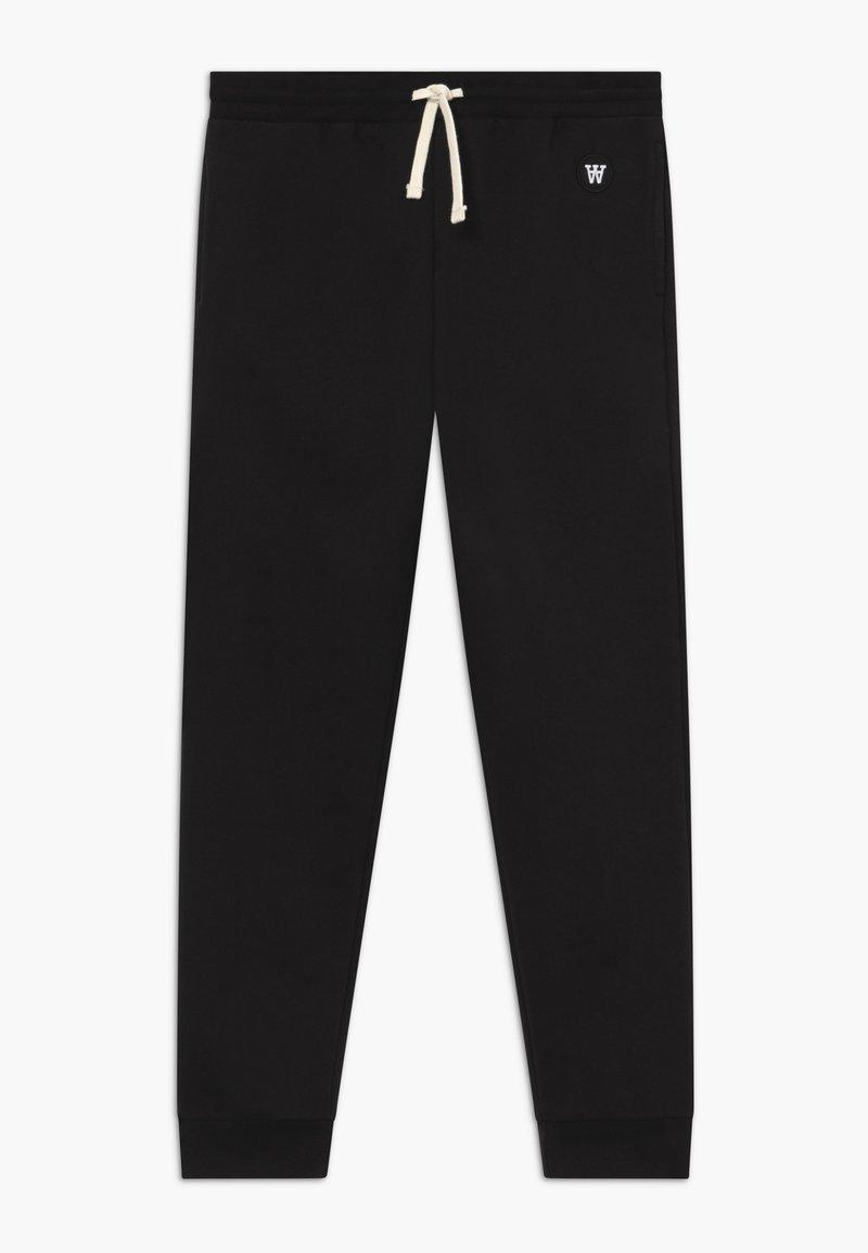 Wood Wood - RAN KIDS TROUSERS - Pantalones deportivos - black