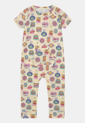 BABY FRUIT STICKER GROW UNISEX - Overal - multi-coloured