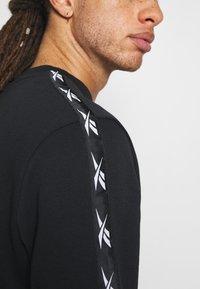 Reebok - TAPE CREW - Sweatshirt - black - 5