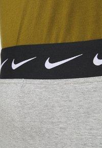 Nike Sportswear - CLUB PLUS - Leggings - dark grey heather/black - 4