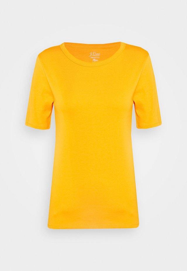 CREWNECK ELBOW SLEEVE - T-shirt basique - orange slice