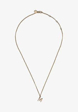 MIT RINGEN UND SCHILDPATTOPTIK  - Necklace - gold-coloured