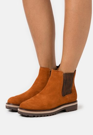 BOOTS - Classic ankle boots - burned orange