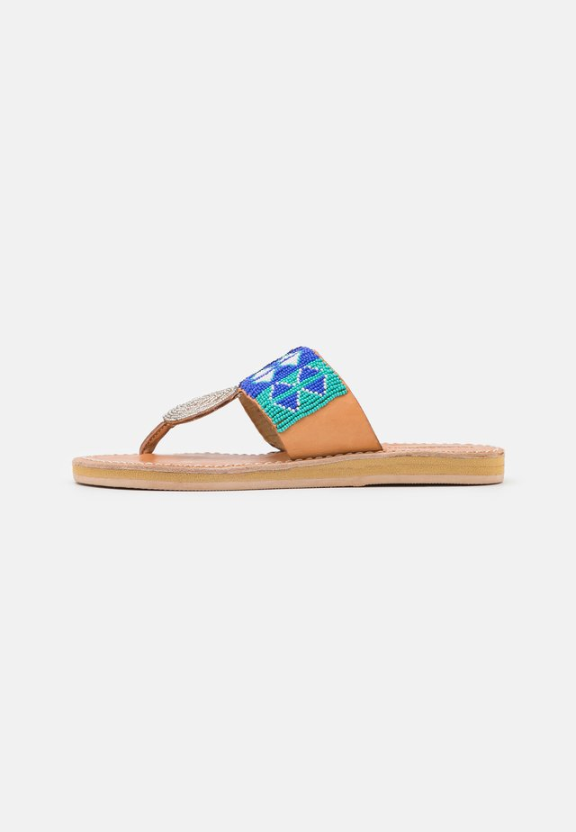 HERON  - Flip Flops - aqua