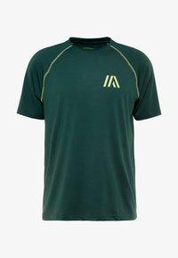 Your Turn Active - T-shirt imprimé - dark green - 4