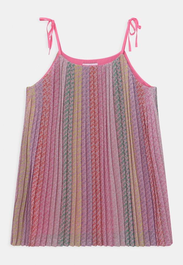 Koktejlové šaty/ šaty na párty - multicoloured