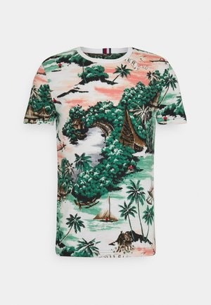 HAWAIIAN TEE - Triko s potiskem - multicoloured