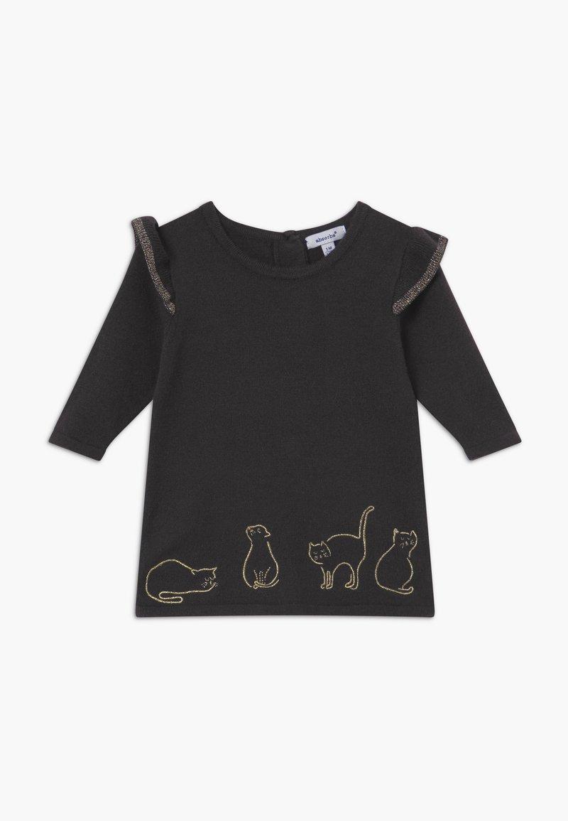 Absorba - Stickad klänning - anthracite