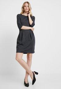 Esprit - JAQUARD DRESS - Shift dress - grey/blue - 2