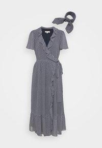 MICHAEL Michael Kors - PRINTED MIDI DRESS - Day dress - blue - 5