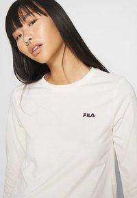 Fila - EAVEN - Long sleeved top - eggnog - 3
