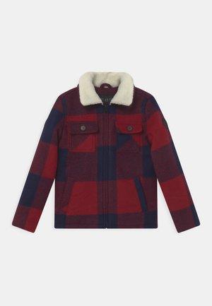 DERULO - Winter jacket - red