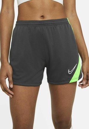 DRY ACADEMY 20 SHORT - Pantaloncini sportivi - anthracite/green strike/white