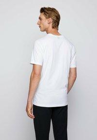 BOSS - TDRAW - Print T-shirt - white - 2