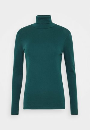 TURTLE NECK - Long sleeved top - forrest green