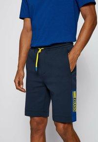 BOSS - HEADLO - Shorts - dark blue - 3