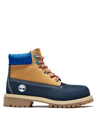 Timberland - Lace-up ankle boots - navy nubuck - 4