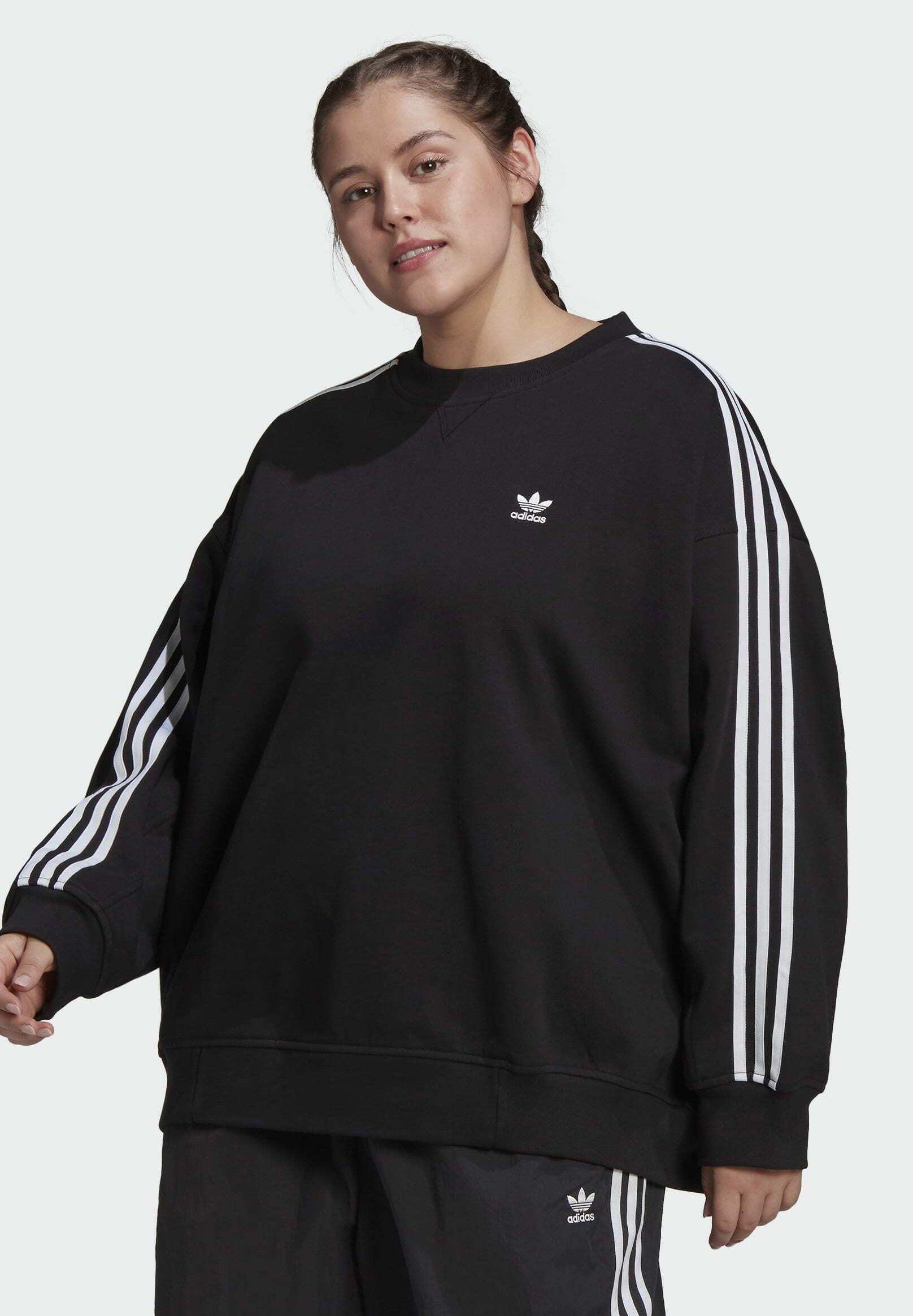 Women LOUNGEWEAR ADICOLOR CLASSICS OVERSIZE SWEATSHIRT (PLUS SIZE) - Sweatshirt