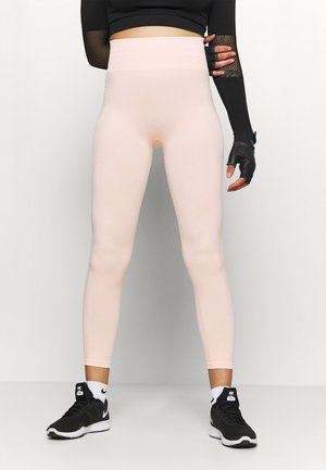 HIGH WAIST7/8 SEAMLESS - Leggings - pink